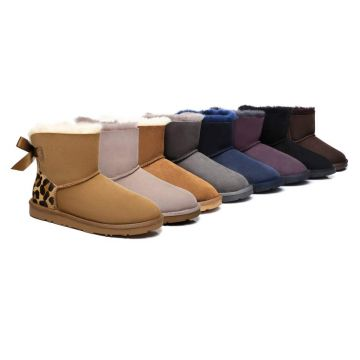 Ever UGG Mini Women Boots with Bailey Bow 11737S