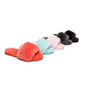 AS UGG Slipper Fluffy Slides Nala 15423