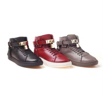 UGG OZWEAR Ladies Harper High Top Sneaker (Water Resistant) Sheepskin Ob195