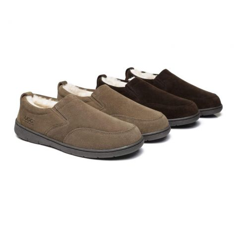 AS Mens Ugg Moccasin Slippers Dino AS2011