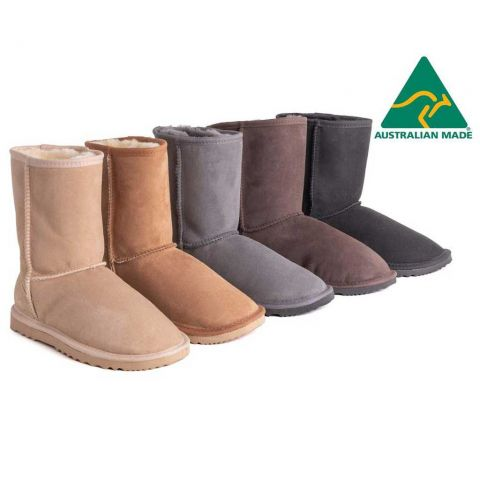 AS Unisex Short Classic Australian Made UGG Boots AS3015S