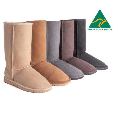 AS Unisex Tall Classic Australian Made Ugg Boots AS3022