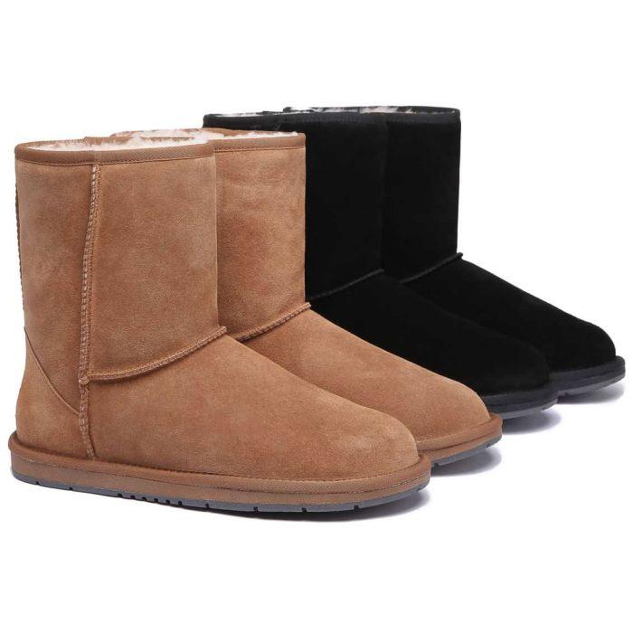 UGG Boots Australian Genuine Sheepskin Unisex Short Classic Suede #15810