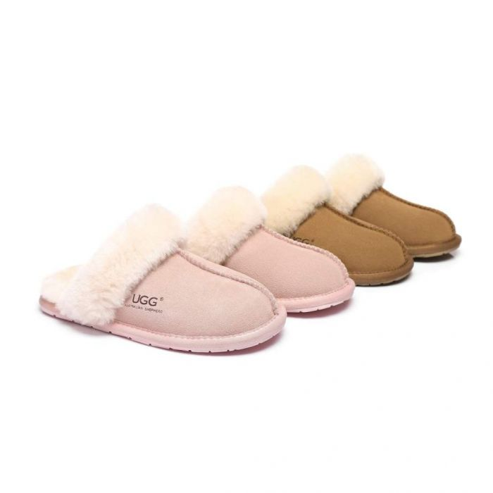 AS Kids UGG Slippers Rosa 553001