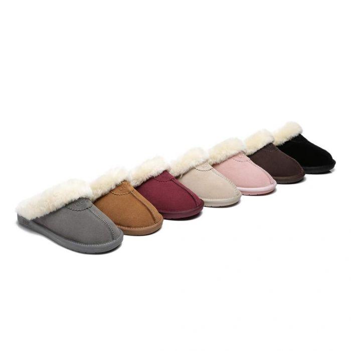 Morgan Scuff Australian Premium Sheepskin Unisex Ugg Slippers AS2015