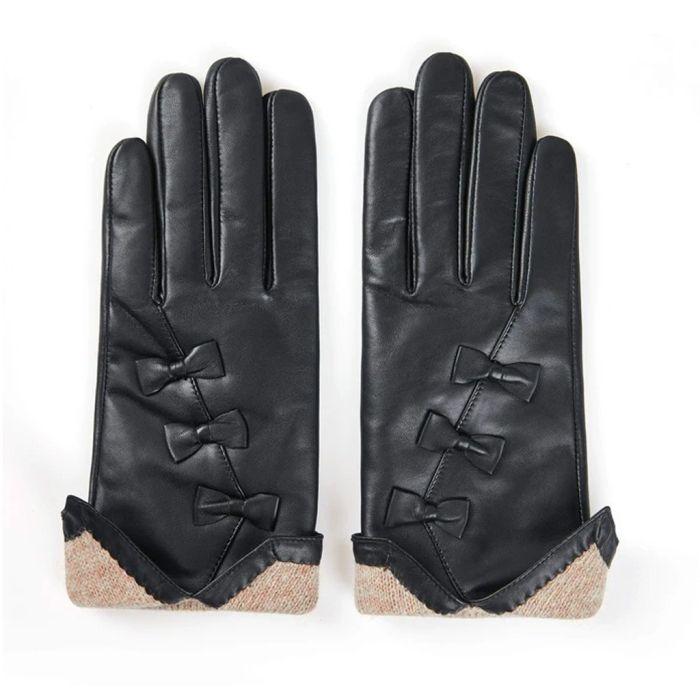 Sheepskin Wool Ladies Leather Gloves Belinda