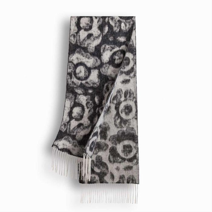 OZWEAR UGG Cashmere + Wool Scarf - Charcoal Grey (1740x300mm) CW001