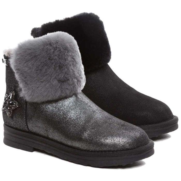 UGG OZWEAR Ladies Bonanza Bee Star Boots Australian Premium Sheepskin Water Resistant Ob341