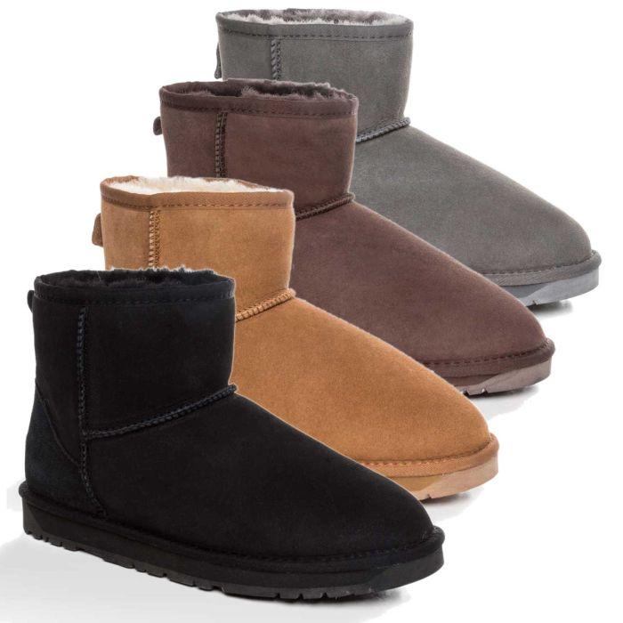 UGG OZWEAR 3rd Gen Mens Classic Mini Boots Premium Sheepskin Water Resistant Ob386